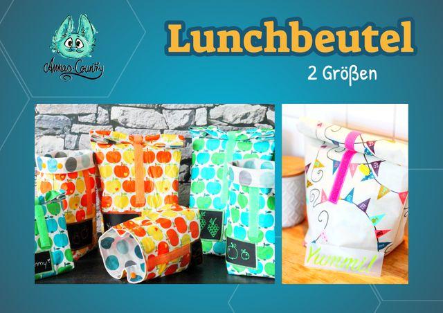 Produktfoto von Annas Country zum Nähen für Schnittmuster Lunchbeutel