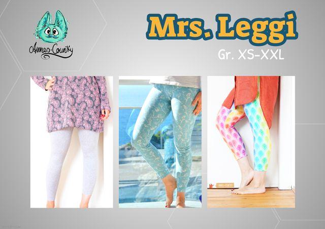 Produktfoto von Annas Country zum Nähen für Schnittmuster Mrs. Leggi