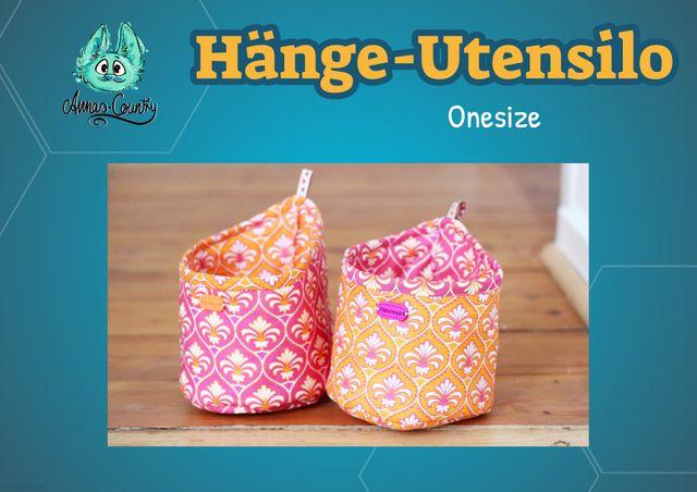 Produktfoto von Annas Country zum Nähen für Schnittmuster Hänge-Utensilo