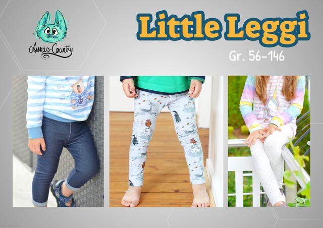 Produktfoto von Annas Country zum Nähen für Schnittmuster Little Leggi