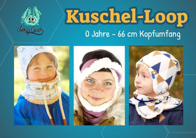 Produktfoto von Annas-Country zum Nähen für Schnittmuster Kuschel-Loop