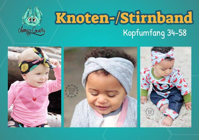 Produktfoto von Annas-Country zum Nähen für Schnittmuster Stirnband/Knotenband