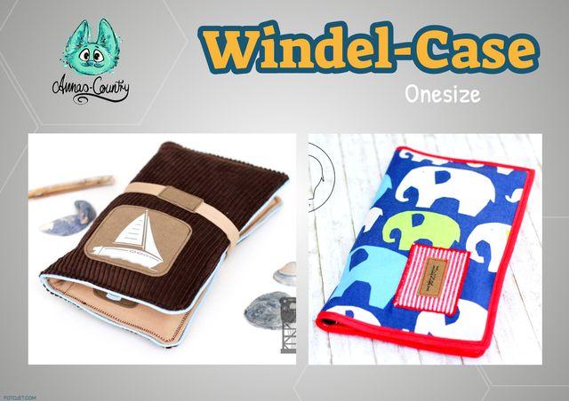 Produktfoto von Annas-Country zum Nähen für Schnittmuster Windel-Case