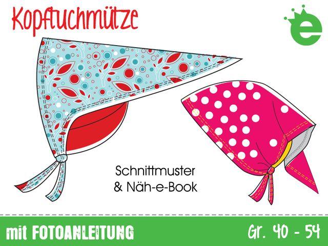 Produktfoto von Erbsenprinzessin zum Nähen für Schnittmuster Kopftuchmütze