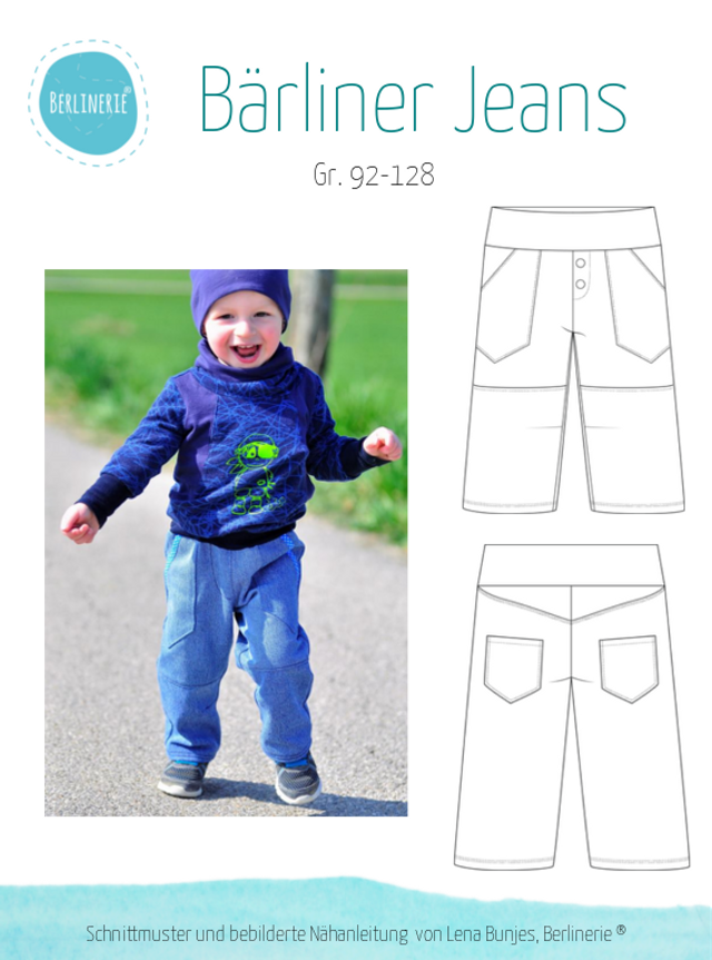 Produktfoto von Berlinerie zum Nähen für Schnittmuster Bärliner Jeans