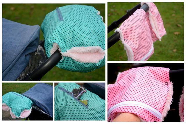 Produktfoto von Engelinchen zum Nähen für Schnittmuster Kinderwagen-Muff - ein- oder zweiteilig