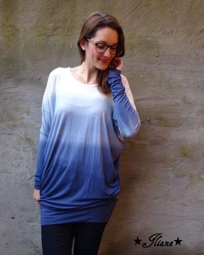 Produktfoto von textilsucht für Schnittmuster Oversizeshirt Lesja