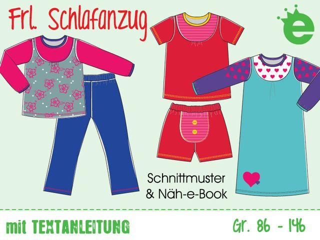 Produktfoto von Erbsenprinzessin zum Nähen für Schnittmuster Frl. Schlafanzug