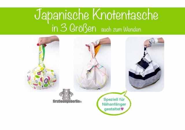 Produktfoto von Firstlounge Berlin für Schnittmuster Japanische Knotentasche