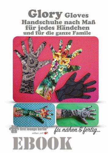 Produktfoto von Firstlounge Berlin zum Nähen für Schnittmuster Glory Gloves