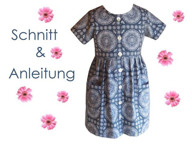 Produktfoto von Lunicum zum Nähen für Schnittmuster Kleid Mia