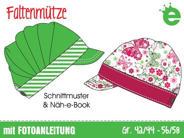 Produktfoto von Erbsenprinzessin zum Nähen für Schnittmuster Faltenmütze