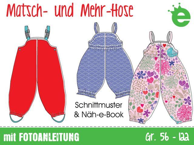 Produktfoto von Erbsenprinzessin zum Nähen für Schnittmuster Matsch & Mehr - Hose