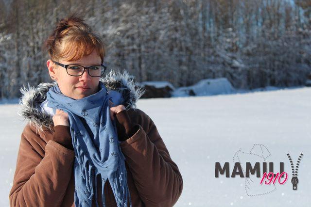 Produktfoto von Mamili1910 für Schnittmuster XXL Dreieckstuch