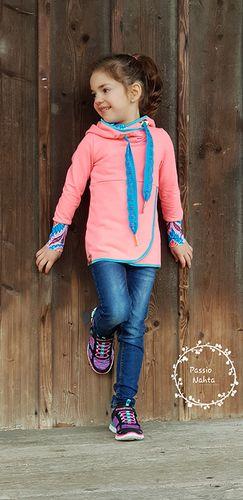Produktfoto von Fadenkäfer für Schnittmuster Lana Kinder