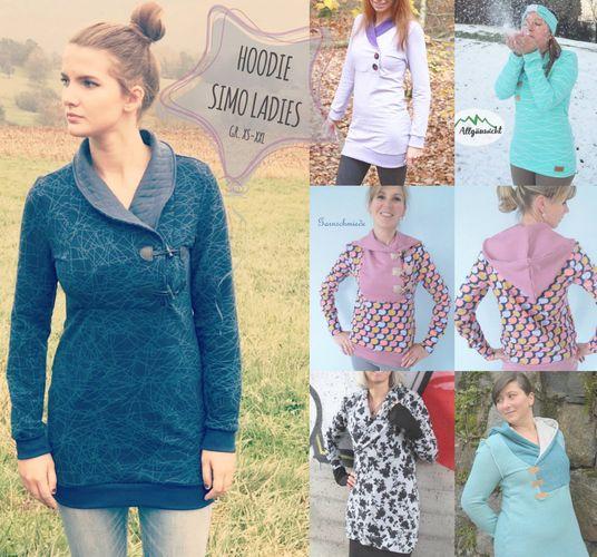 Produktfoto von Sara & Julez zum Nähen für Schnittmuster Simo Ladies