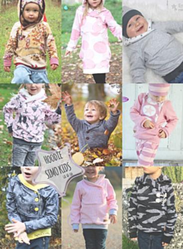 Produktfoto von Sara & Julez zum Nähen für Schnittmuster Simo Kids