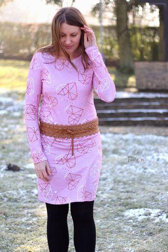 Produktfoto von Meine Herzenswelt zum Nähen für Schnittmuster Kleid/Shirt Damen - Meine Helma