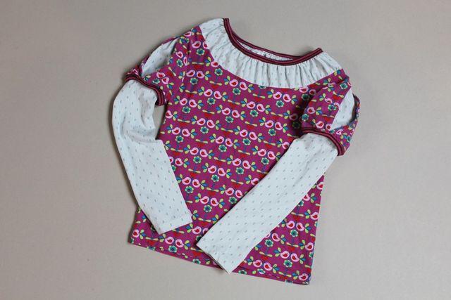Produktfoto von Kleine Lotta Hohenberg für Schnittmuster Mädchenshirt Princess