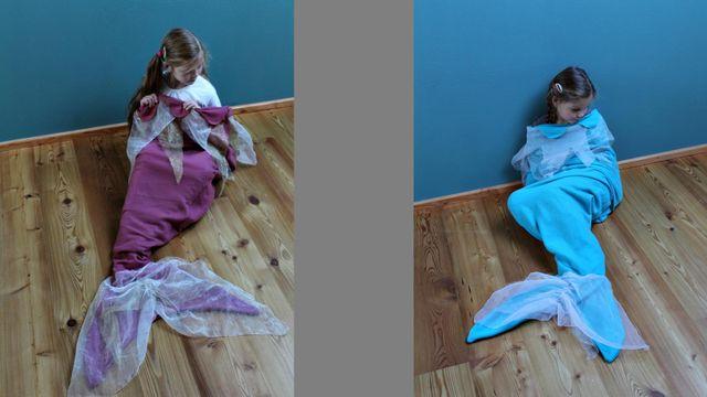 Produktfoto von Kleine Lotta Hohenberg für Schnittmuster Kuschel-Schlafsack Arielle