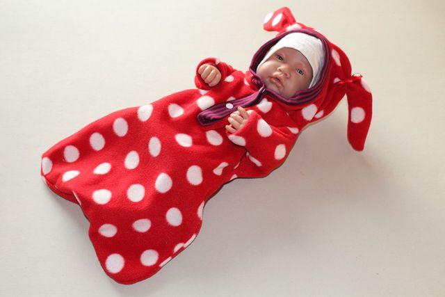 Produktfoto von Kleine Lotta Hohenberg für Schnittmuster Puppen-Wintersack Easy