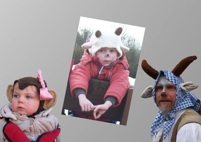 Produktfoto von Kleine Lotta Hohenberg für Schnittmuster Faschingsmütze GEISLEIN + AFFE