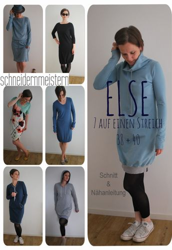 Produktfoto von schneidernmeistern für Schnittmuster Else 38-40
