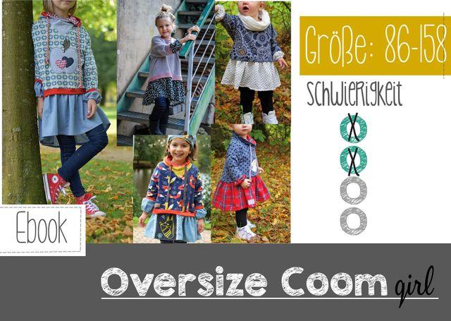 Produktfoto von FeeFee zum Nähen für Schnittmuster Oversize Coom girl