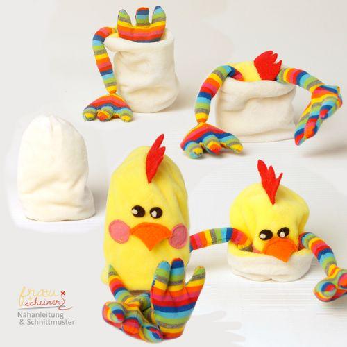 Produktfoto von Frau Scheiner für Schnittmuster Drei im Ei