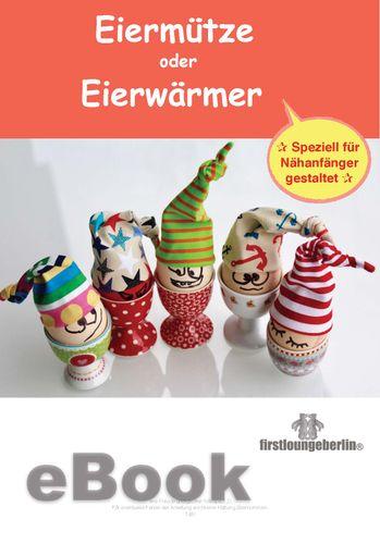 Produktfoto von Firstlounge Berlin zum Nähen für Schnittmuster Eiermütze oder Eierwärmer