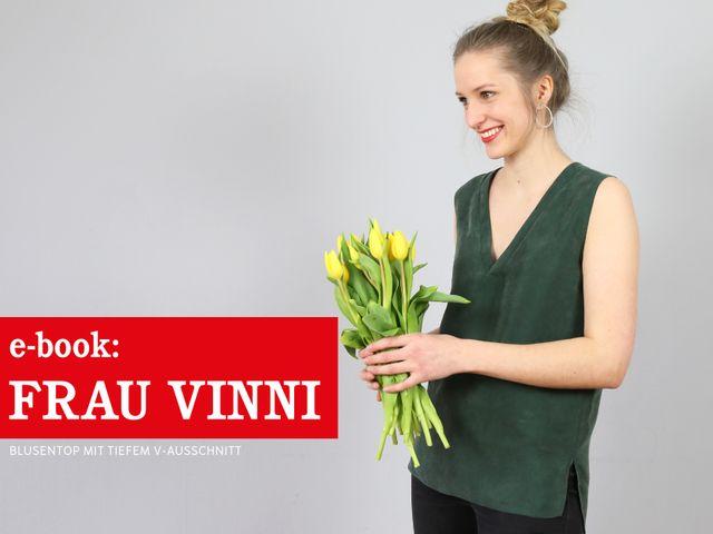 Produktfoto von STUDIO SCHNITTREIF zum Nähen für Schnittmuster Frau Vinni