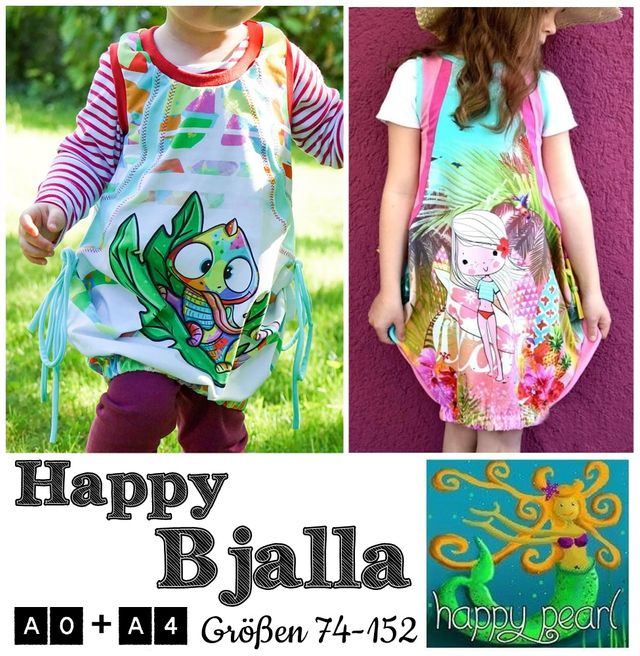 Produktfoto von Happy Pearl zum Nähen für Schnittmuster Happy Bjalla