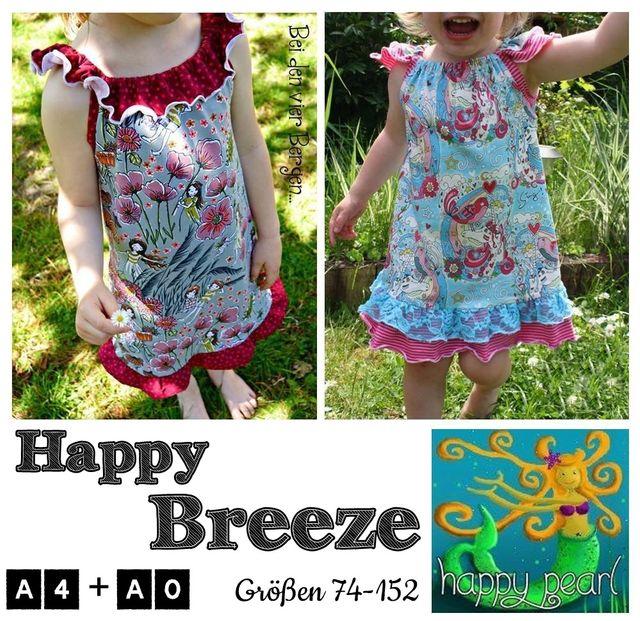 Produktfoto von Happy Pearl zum Nähen für Schnittmuster Happy Breeze
