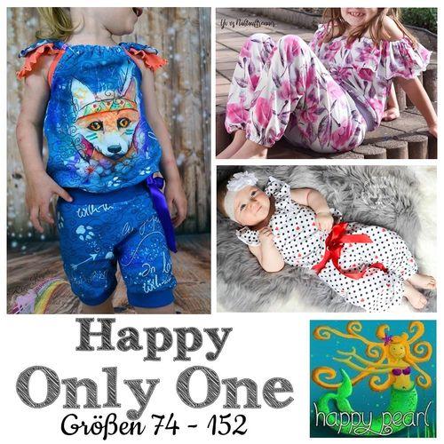 Produktfoto von Happy Pearl zum Nähen für Schnittmuster Happy Only One
