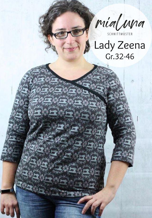 Produktfoto von mialuna zum Nähen für Schnittmuster Lady Zeena