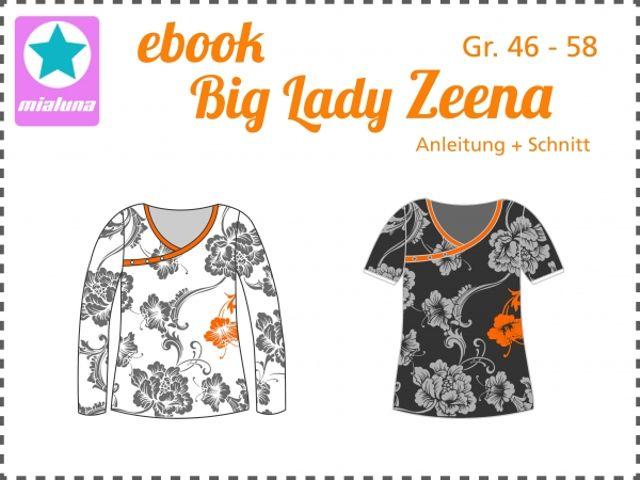 Produktfoto von mialuna zum Nähen für Schnittmuster Big Lady Zeena