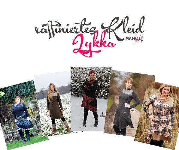 Produktfoto von Mamili1910 für Schnittmuster Kleid Lykka