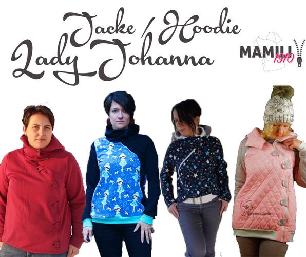 Produktfoto von Mamili1910 zum Nähen für Schnittmuster Jacke/Hoodie Lady Johanna