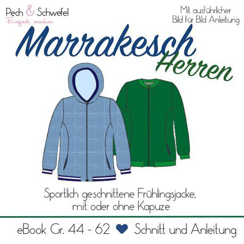 Produktfoto von Pech & Schwefel zum Nähen für Schnittmuster Frühlingsjacke Marrakesch Herren