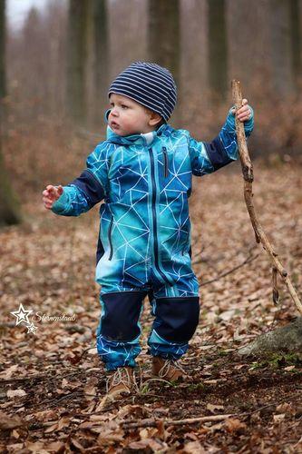 Produktfoto von Meine Herzenswelt zum Nähen für Schnittmuster Softshelloverall Kinder - Dein Edvin