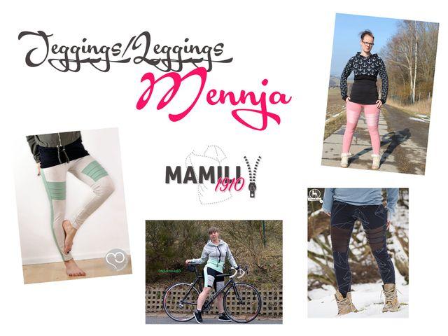 Produktfoto von Mamili1910 zum Nähen für Schnittmuster Jeggings Mennja