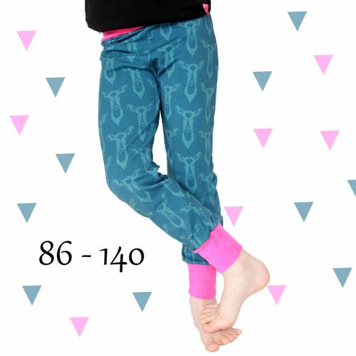 Produktfoto von Anni Nanni für Schnittmuster Jogginghose für Mädchen