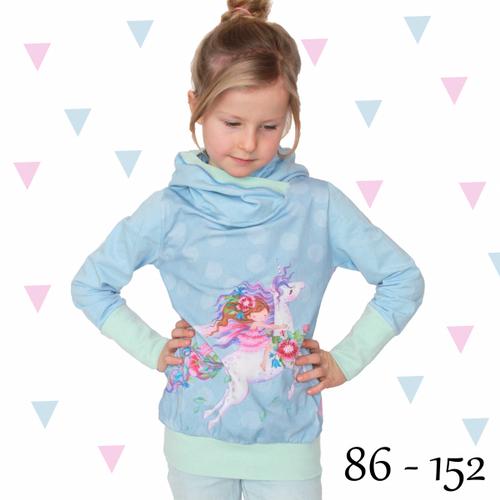 Produktfoto von Anni Nanni zum Nähen für Schnittmuster Hoody für Mädchen