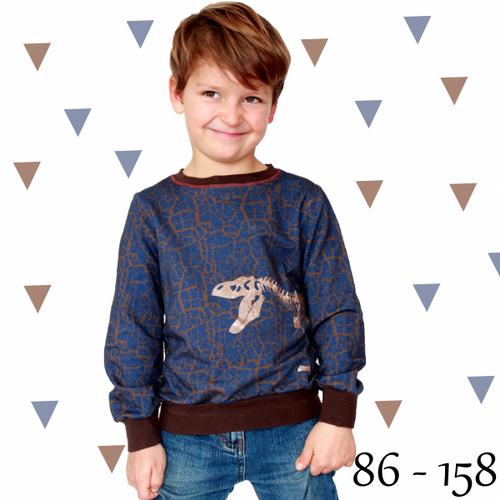 Produktfoto von Anni Nanni für Schnittmuster Pulli für Jungs