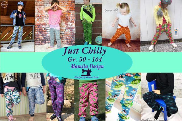 Produktfoto von Mamilu Design für Schnittmuster Hose Just Chilly