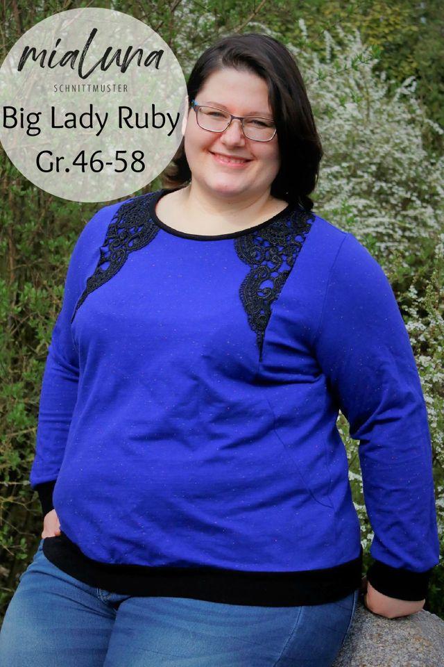 Produktfoto von mialuna zum Nähen für Schnittmuster Big Lady Ruby