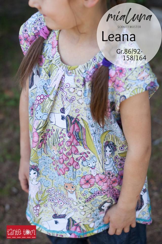 Produktfoto von mialuna zum Nähen für Schnittmuster Leana