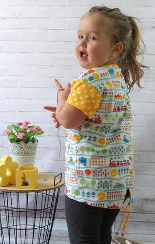 Produktfoto von Fadenkäfer für Schnittmuster Schwalbenshirt Kinder
