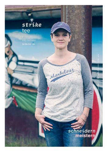 Produktfoto von schneidernmeistern zum Nähen für Schnittmuster strike tee