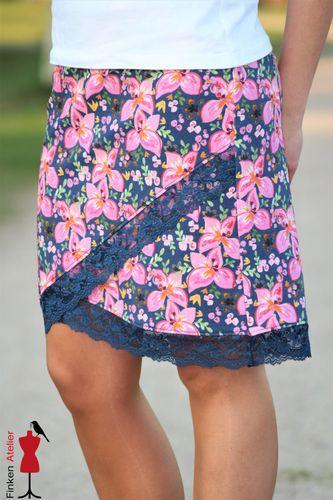 Produktfoto von MiToSa-Kreativ zum Nähen für Schnittmuster Shabby Skirt Ladies